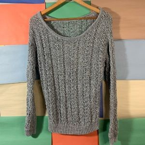 AEO Knit Scoop Neck Sweater size M